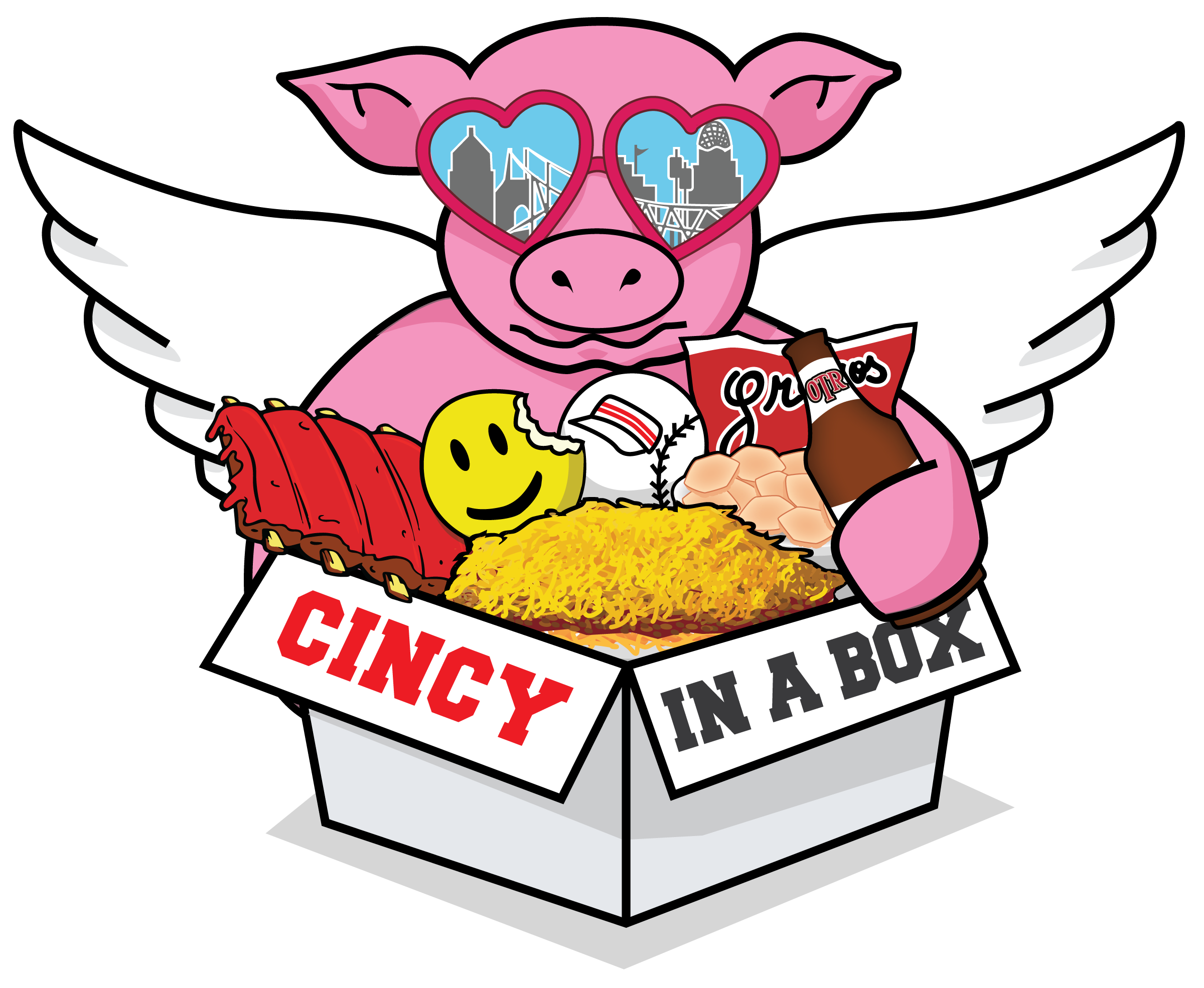 Cincinnati gift baskets with. Gifts clipart prize basket