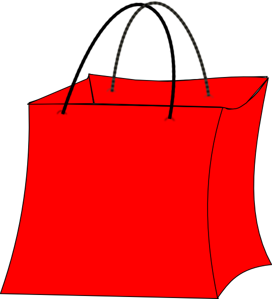 Luggage clipart red. Bag clip art at