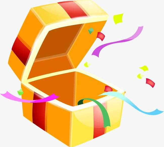Gift clipart special gift. Open box png boxes