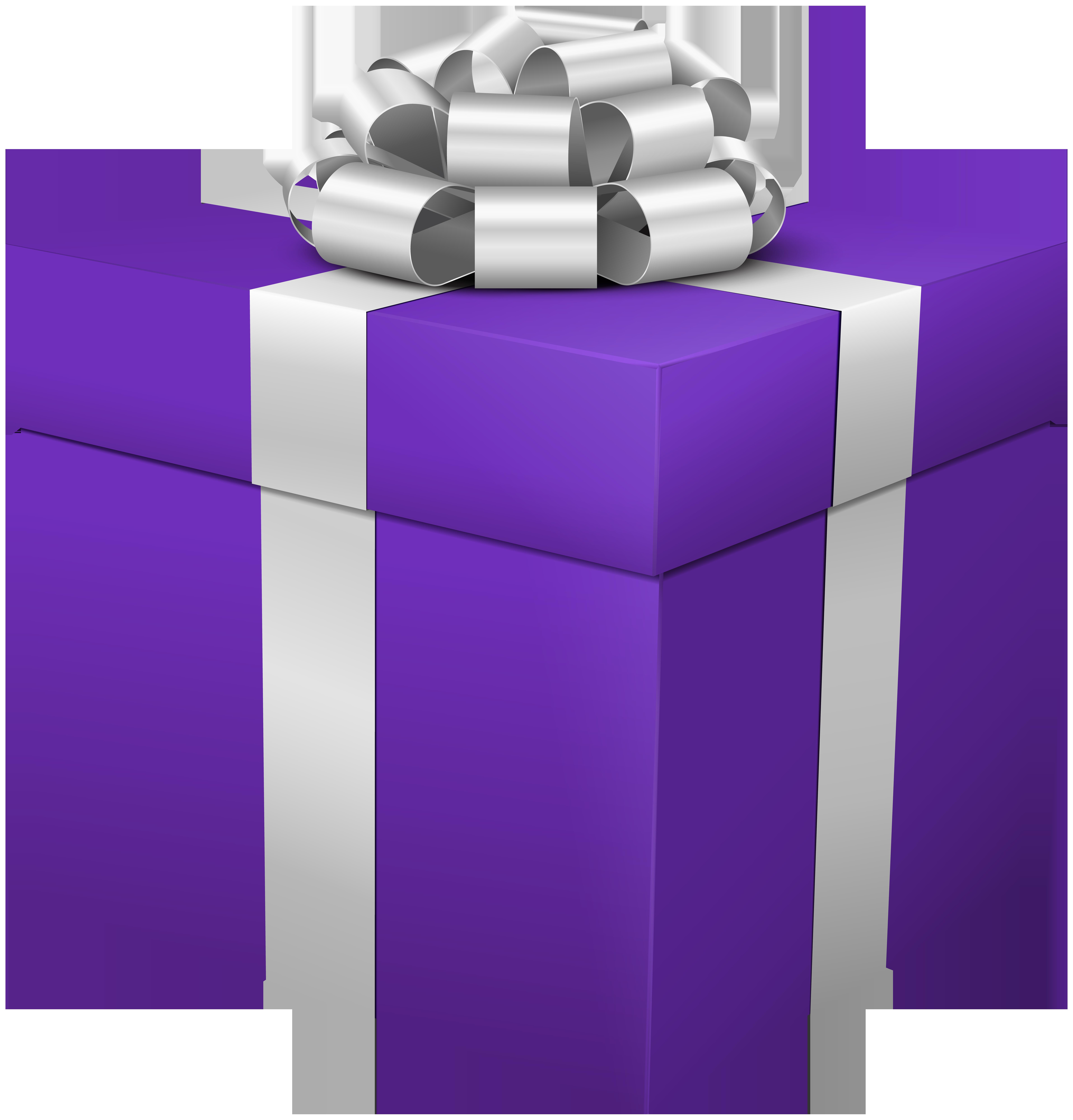 Gift box png clip. Square clipart purple