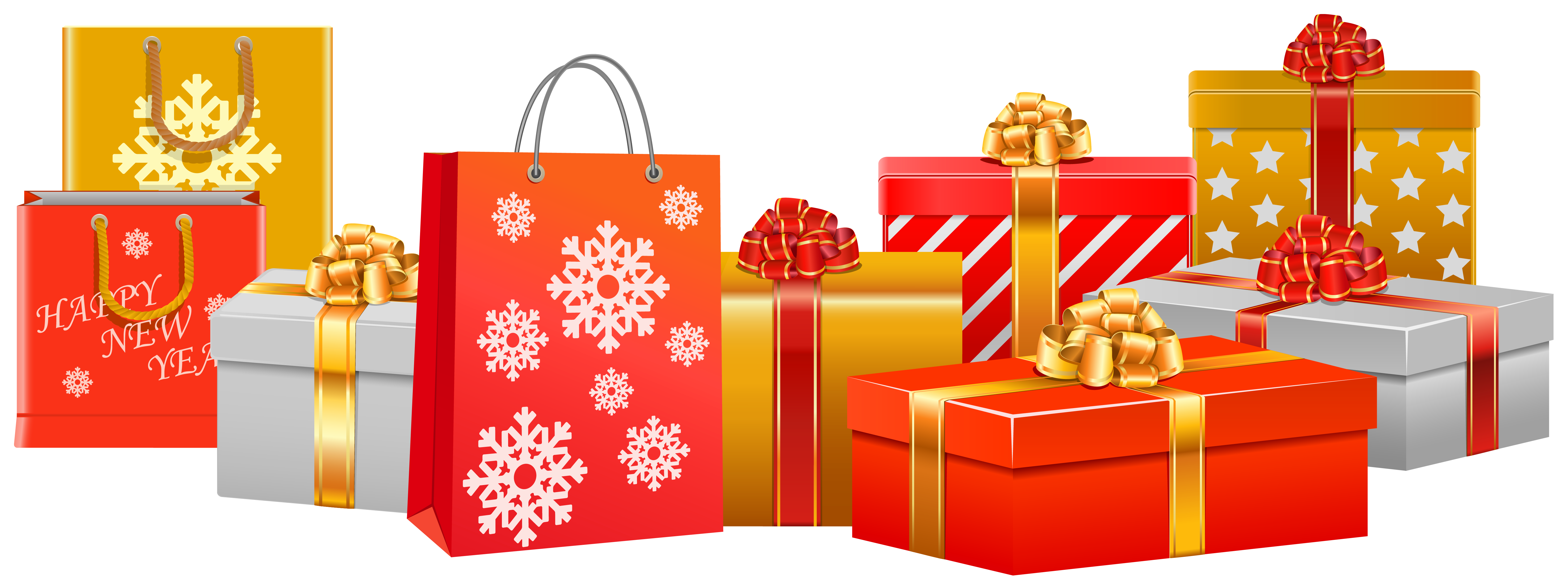 Clipart present parcel. Christmas gifts png image