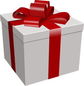 Gifts clipart. Gift box clip art