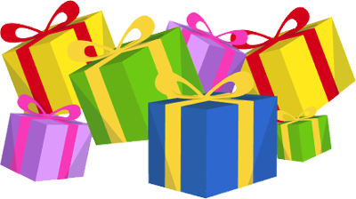 Gifts clipart. Free christmas presents and