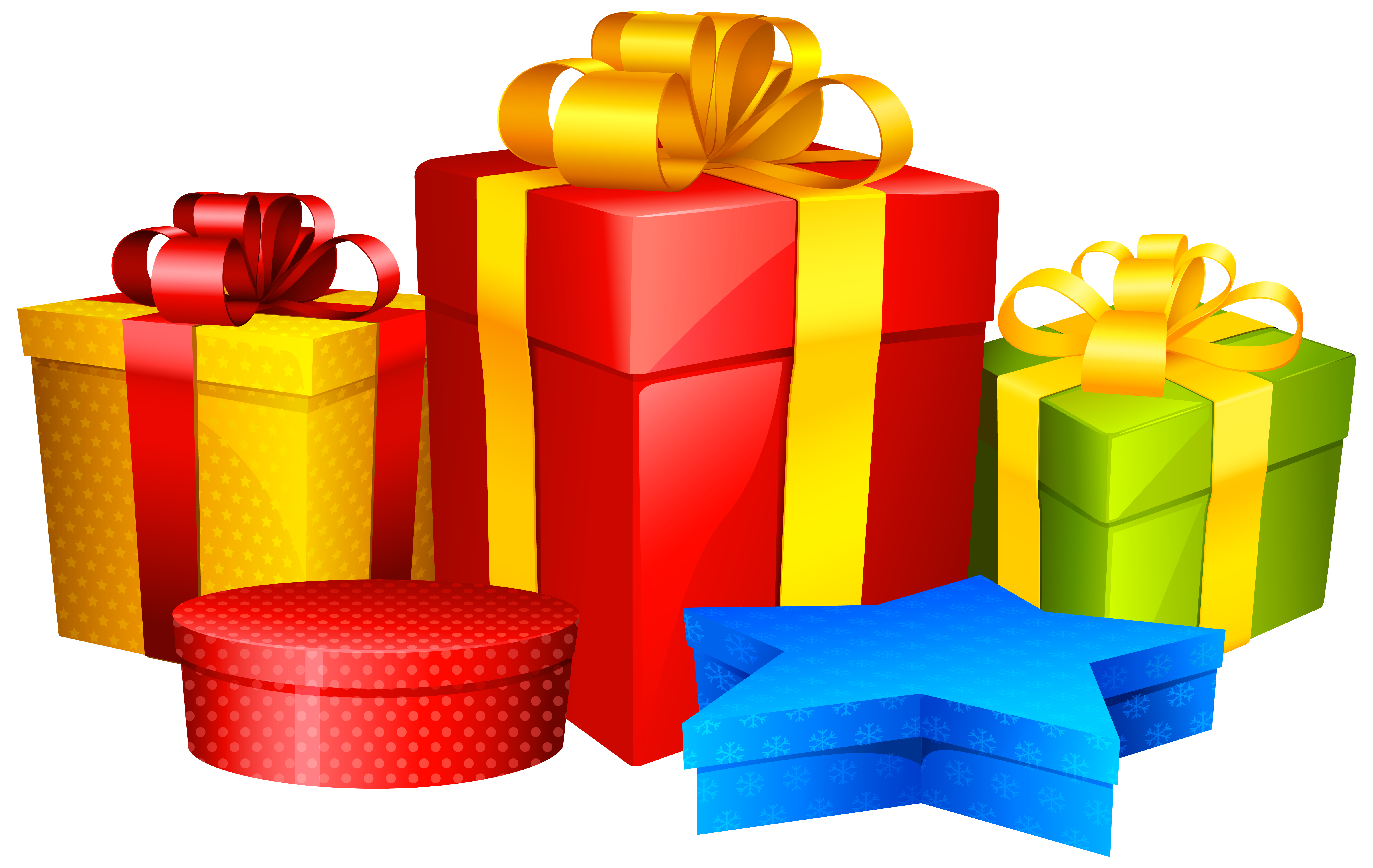 Presents png clip art. Gifts clipart