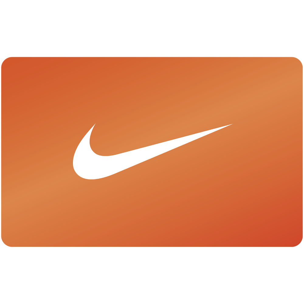 Prize clipart gift card. Nike products pinterest