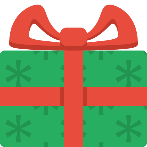 christmas present clip. Gifts clipart simple