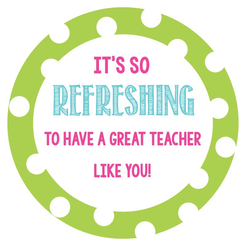 Thanks clipart teacher appreciation week. Refreshing and fun gift