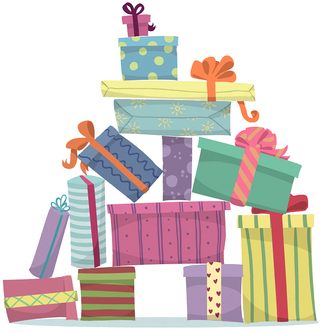 Gifts clipart tradition. Unique gift ideas find