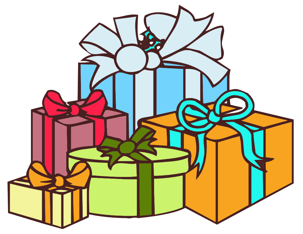 Free gift cliparts download. Gifts clipart
