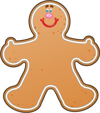 Gingerbread clipart. Clip art free panda