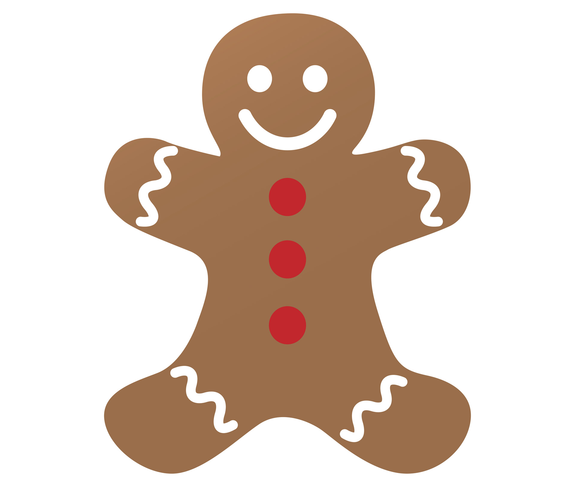 Gingerbread clipart. Man free stock photo