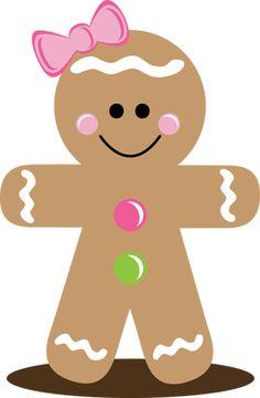 Gingerbread clipart big. Free man clip art