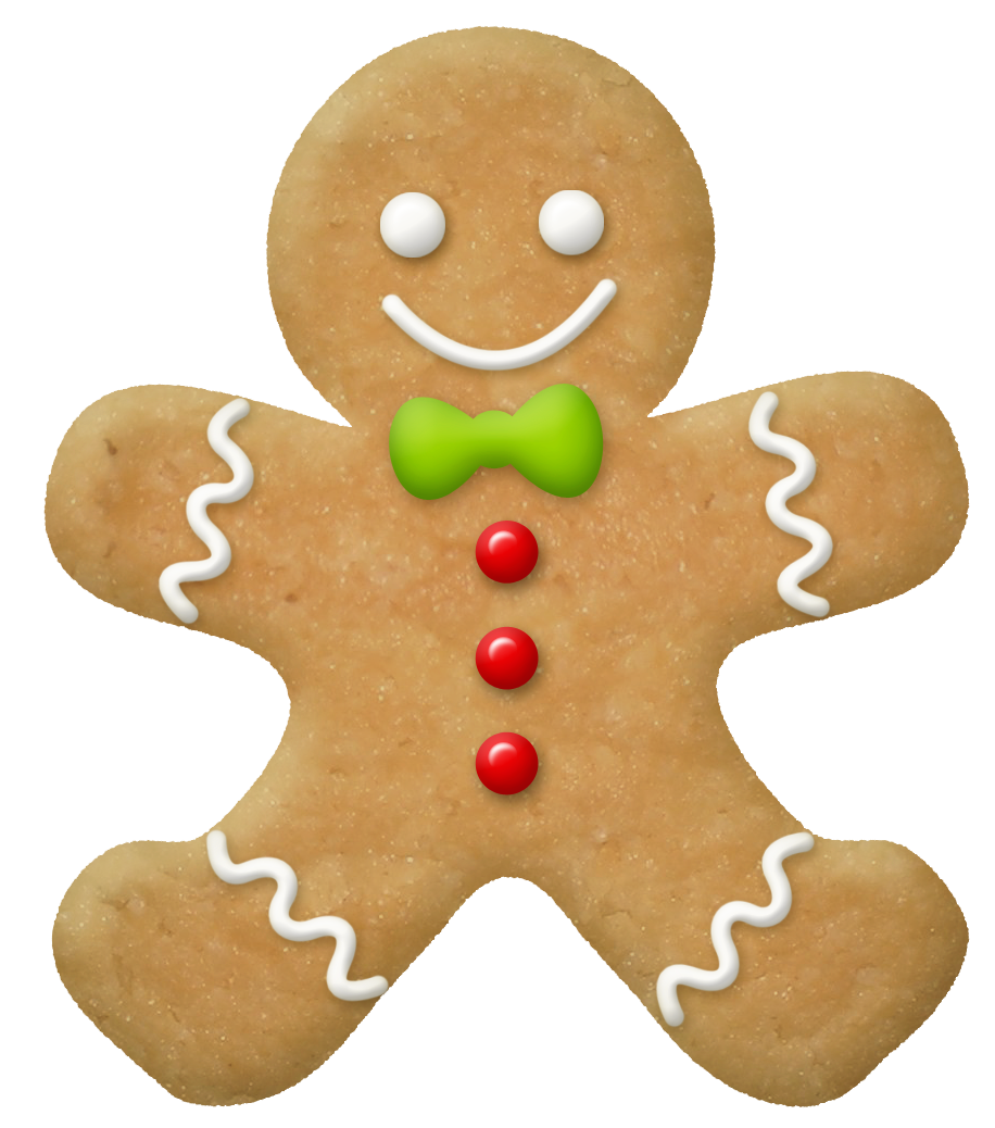 Christmas png picture gallery. Gingerbread clipart blue