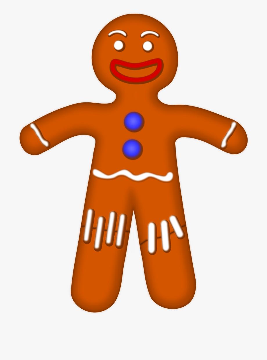 Gingerbread clipart cartoon. At getdrawings clip art