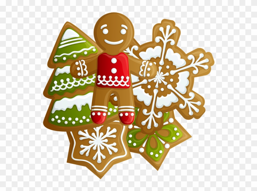 Gingerbread clipart christmas biscuit. Transparent and cookies png