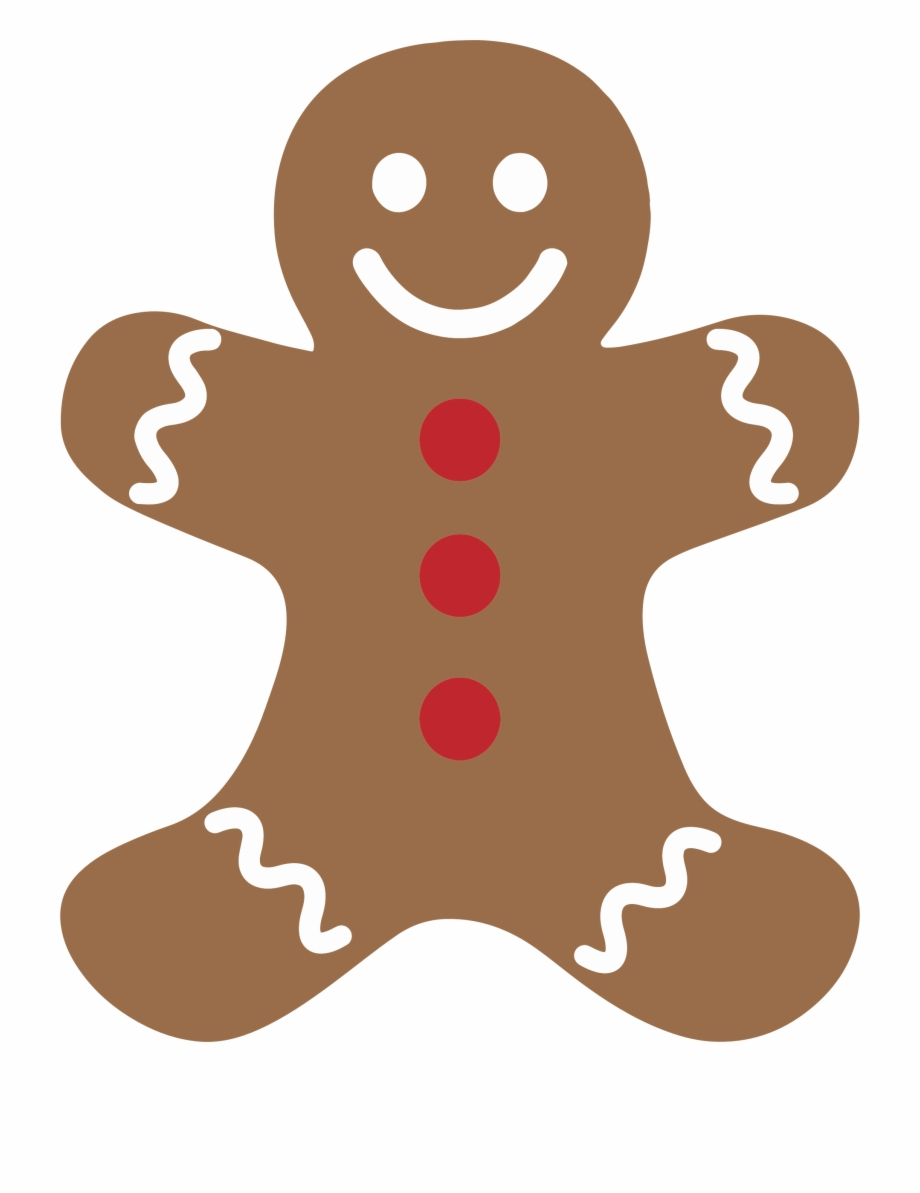 Gingerbread clipart christmas biscuit. The man ginger snap