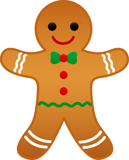 Man free clip art. Gingerbread clipart christmas biscuit