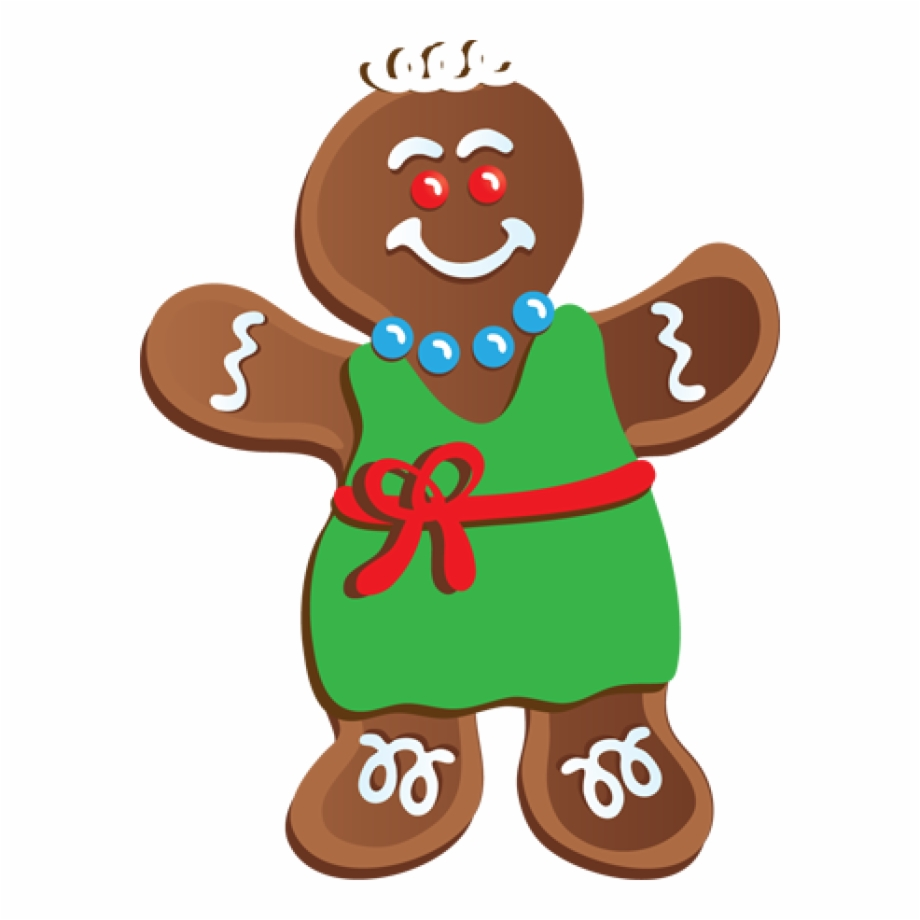 Gingerbread clipart clip art. Outline christmas