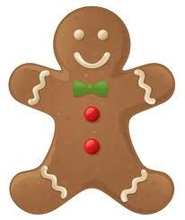 Am using this image. Gingerbread clipart cut out