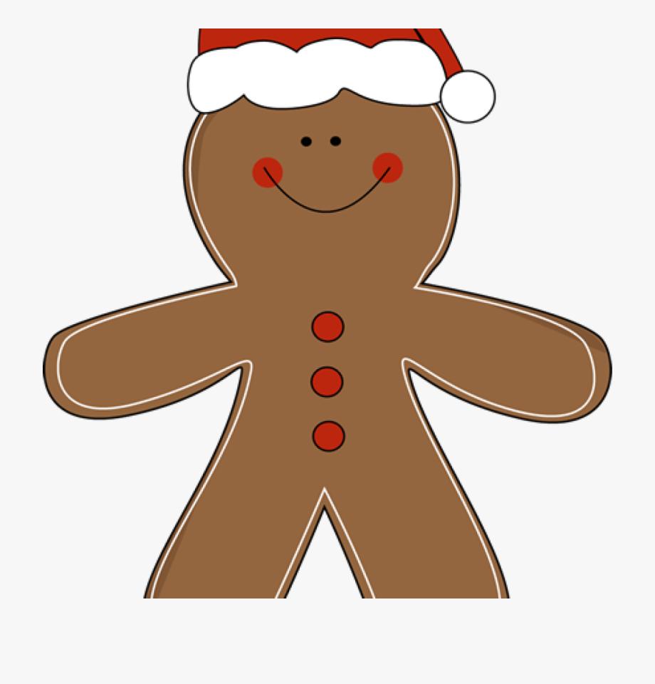 Gingerbread clipart easy. Man cute free clip