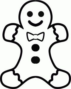 Pinterest . Gingerbread clipart easy
