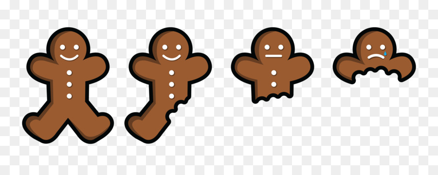 Man png download free. Gingerbread clipart eaten