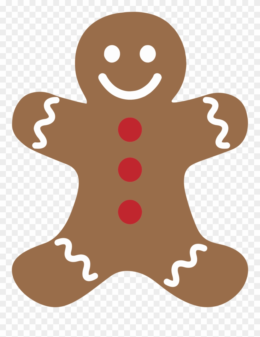 Man clipartfest christmas . Gingerbread clipart eaten