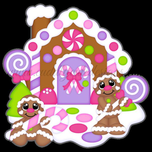 Gingerbread clipart elf house. Christmas