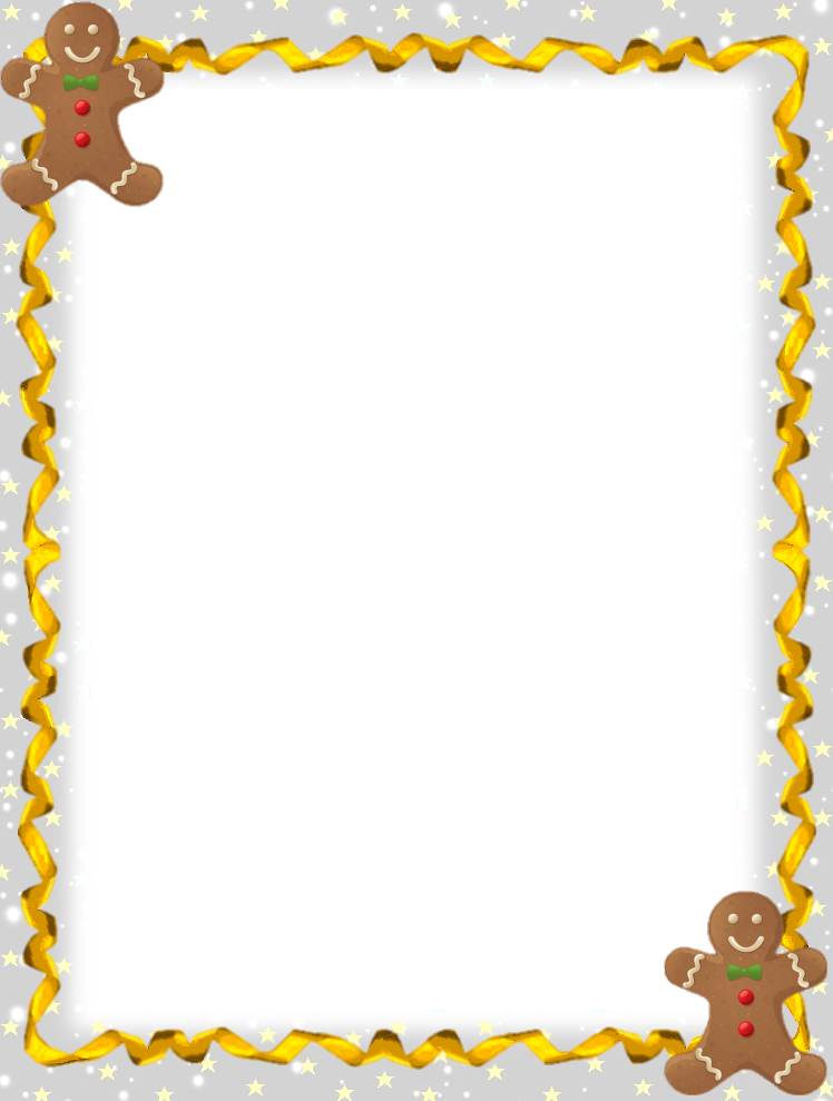 Free border cliparts download. Gingerbread clipart frame