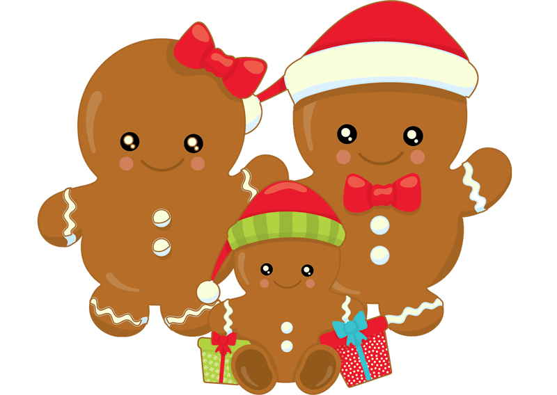 Gingerbread gingerbread family