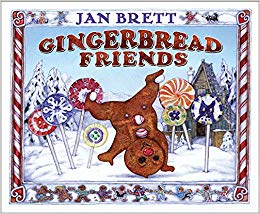 Friends jan brett amazon. Gingerbread clipart gingerbread friend