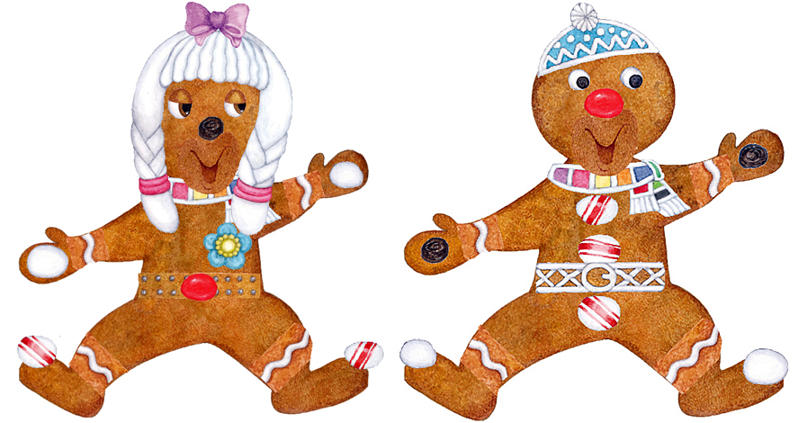 Design your own . Gingerbread clipart gingerbread friend
