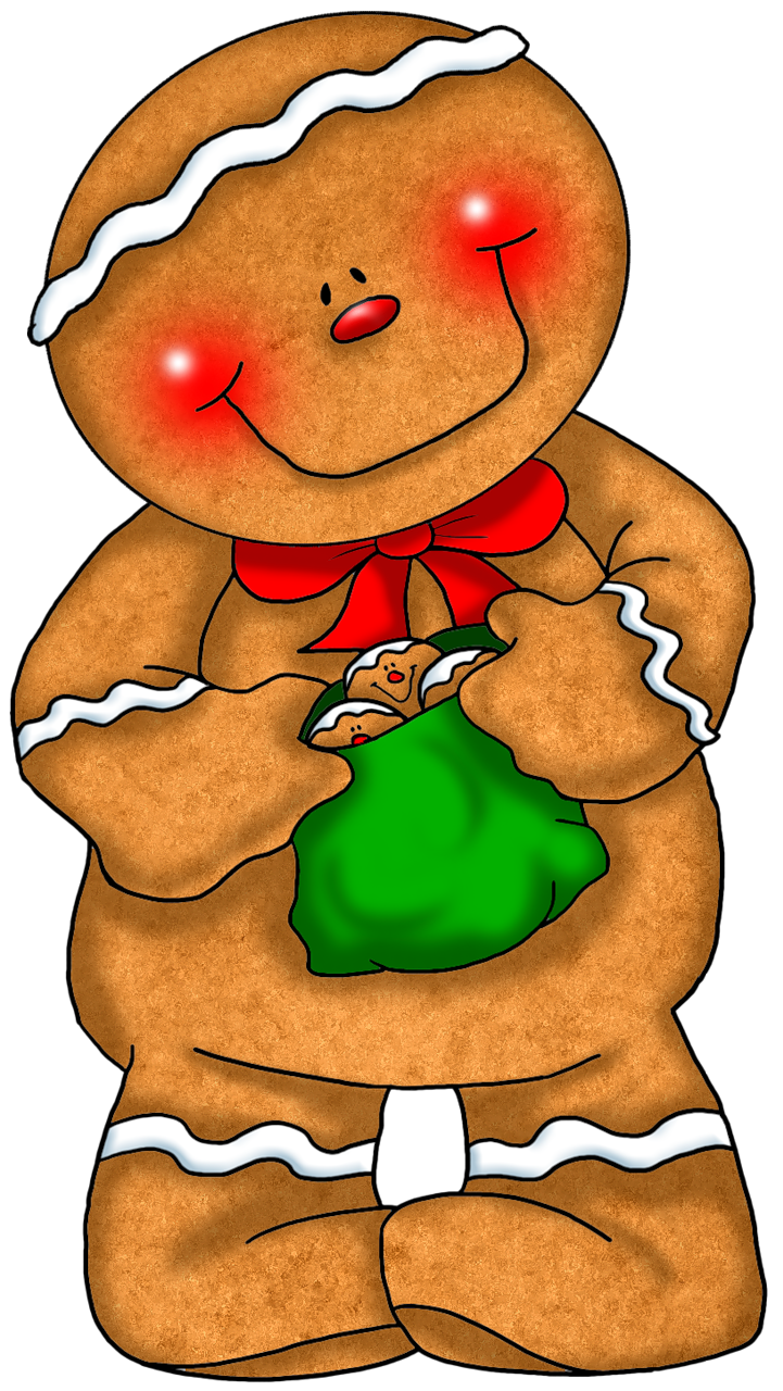 Pin by lena forbis. Gingerbread clipart gingerbread friend