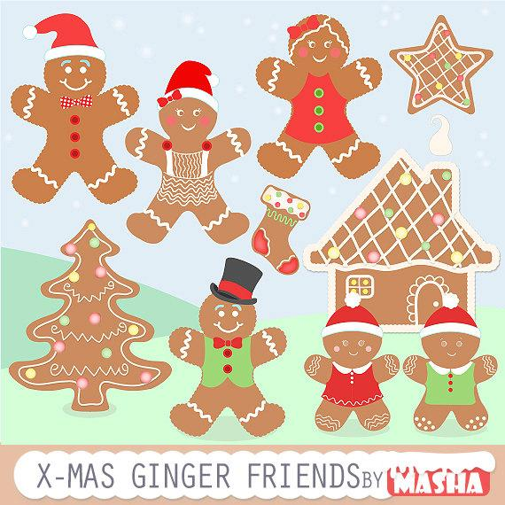 Gingerbread clipart gingerbread friend. Friends with clip art