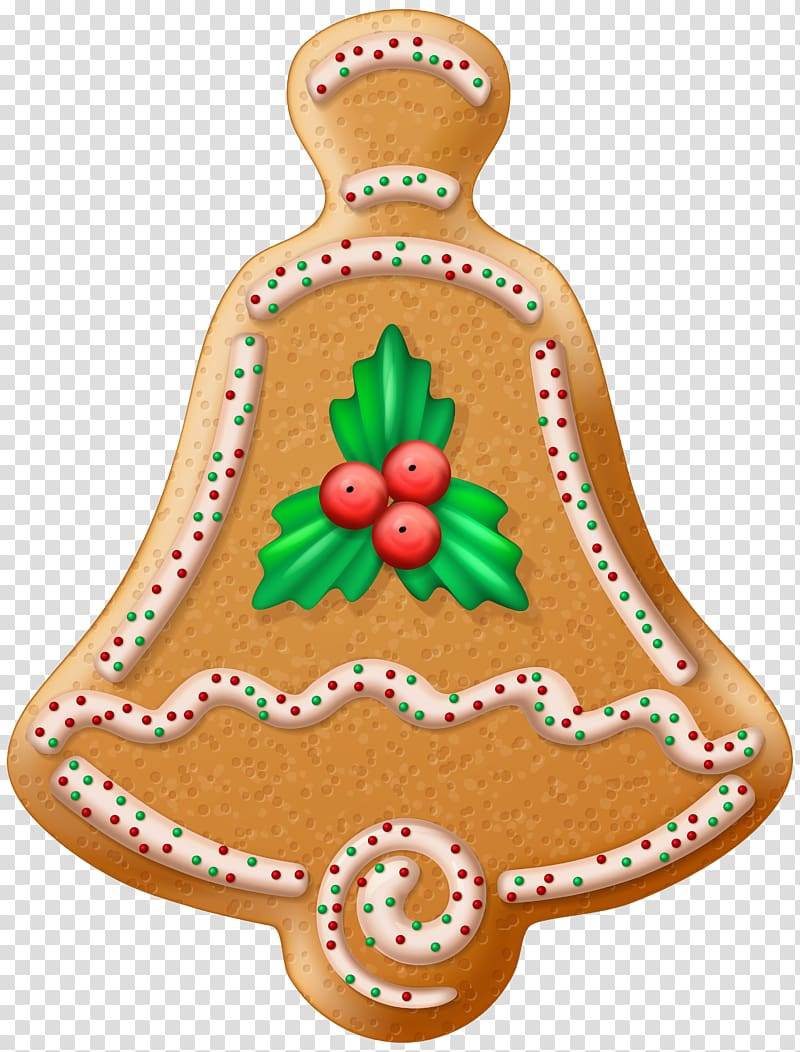 Gingerbread clipart gingerbread tree. Bell bread christmas cookie