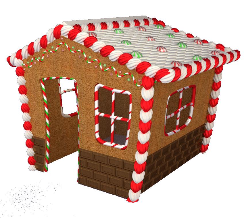 Gingerbread clipart gingerbread village. Winterland inc wlgnbrhousepng