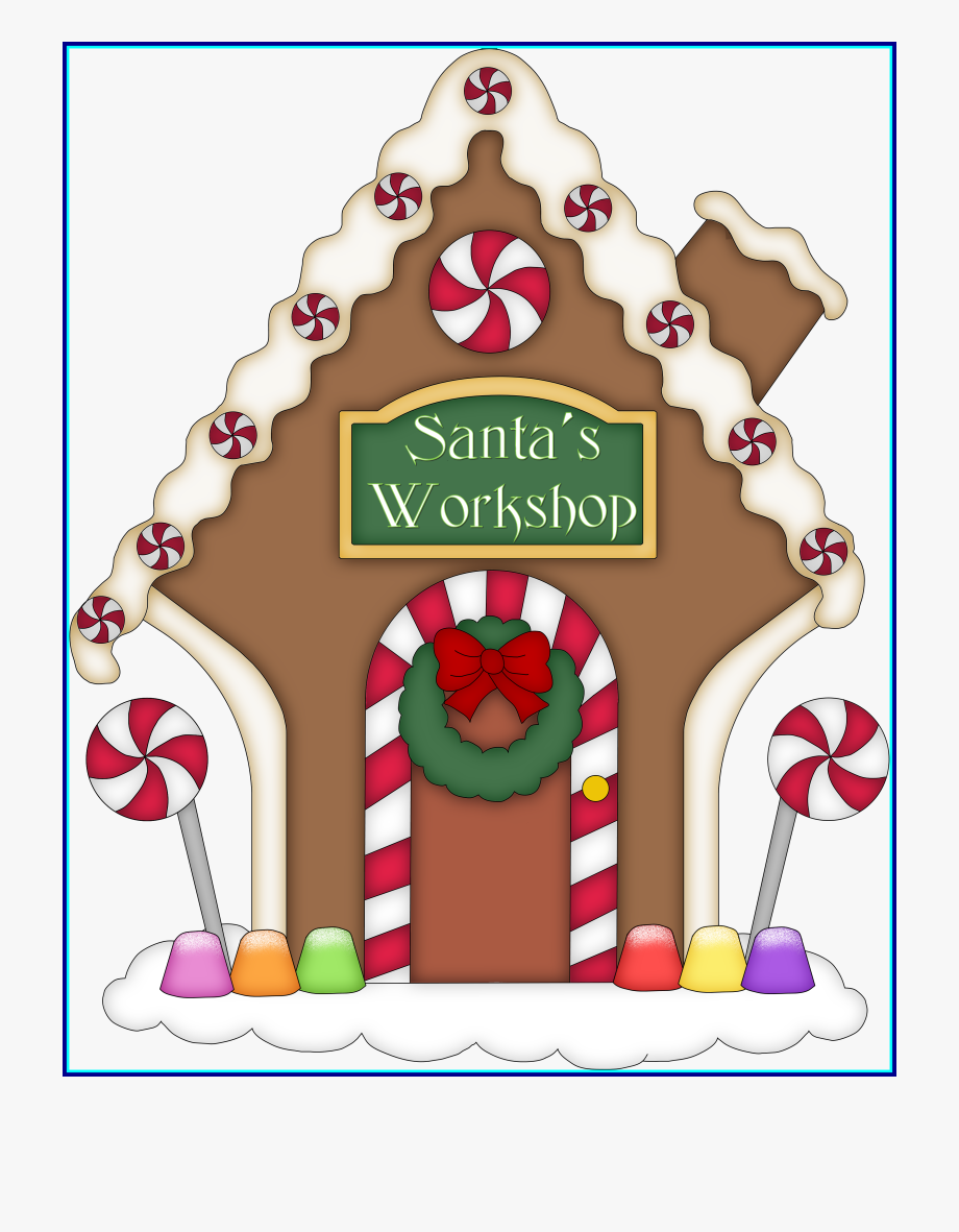 Gingerbread clipart gingerbread village. A house christmas