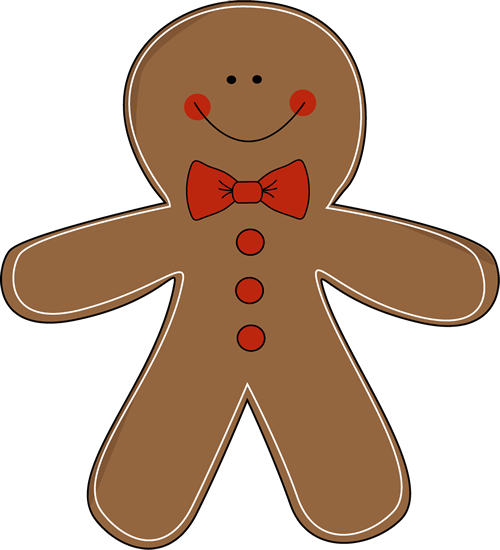 Gingerbread clipart head. Cute clip art library