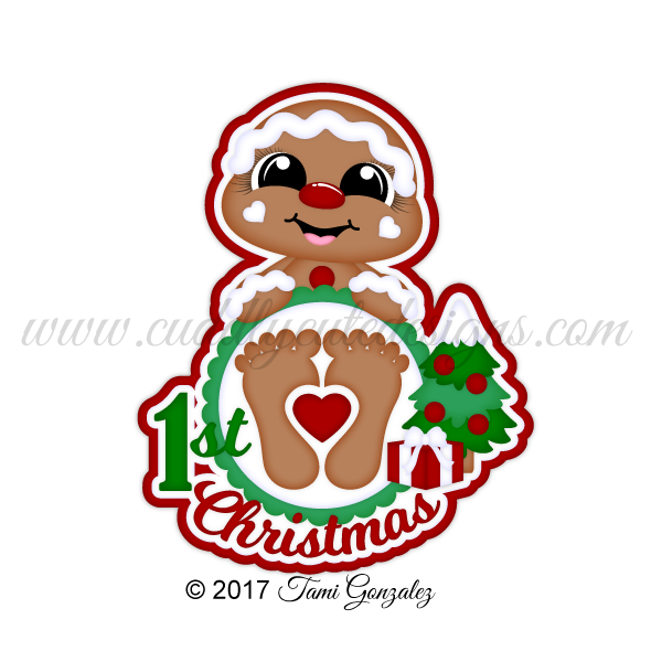 Titlesborderstags st christmas. Gingerbread clipart horizontal