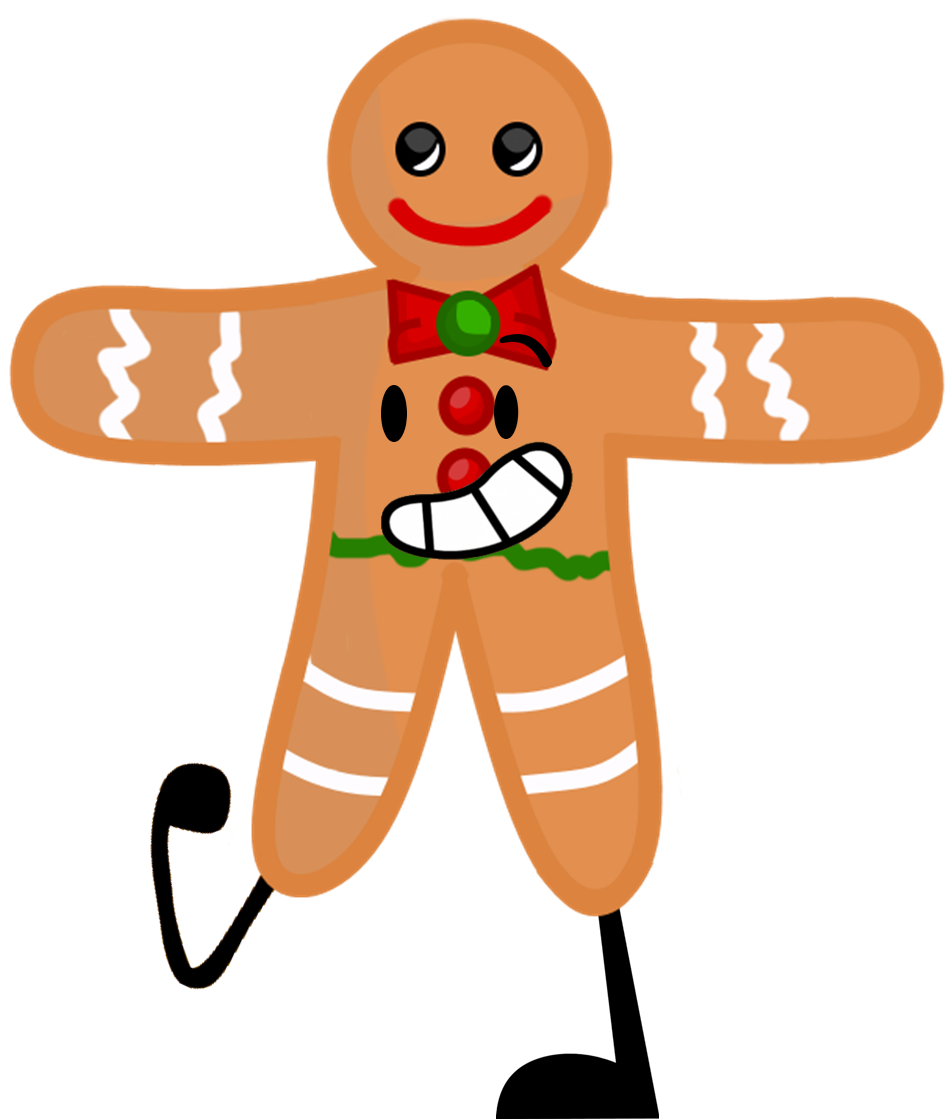 Image ginger breadman png. Gingerbread clipart horizontal