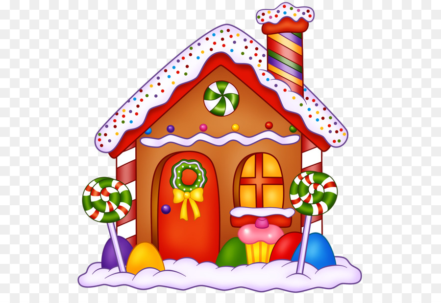 Lollipop clipart gingerbread. House hansel and gretel