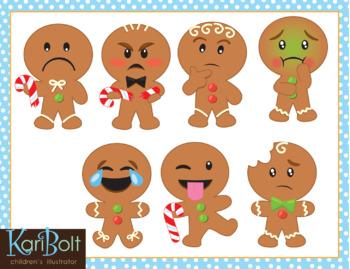 Gingerbread clipart month. Man emoji clip art