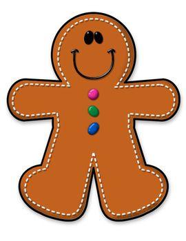 Freebie boy man free. Gingerbread clipart month