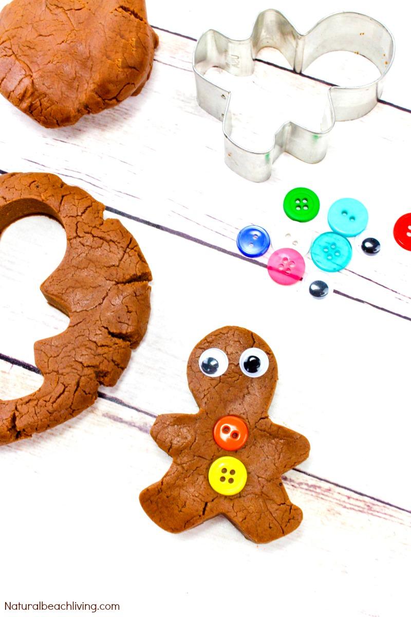 Recipe no cook cream. Gingerbread clipart playdough