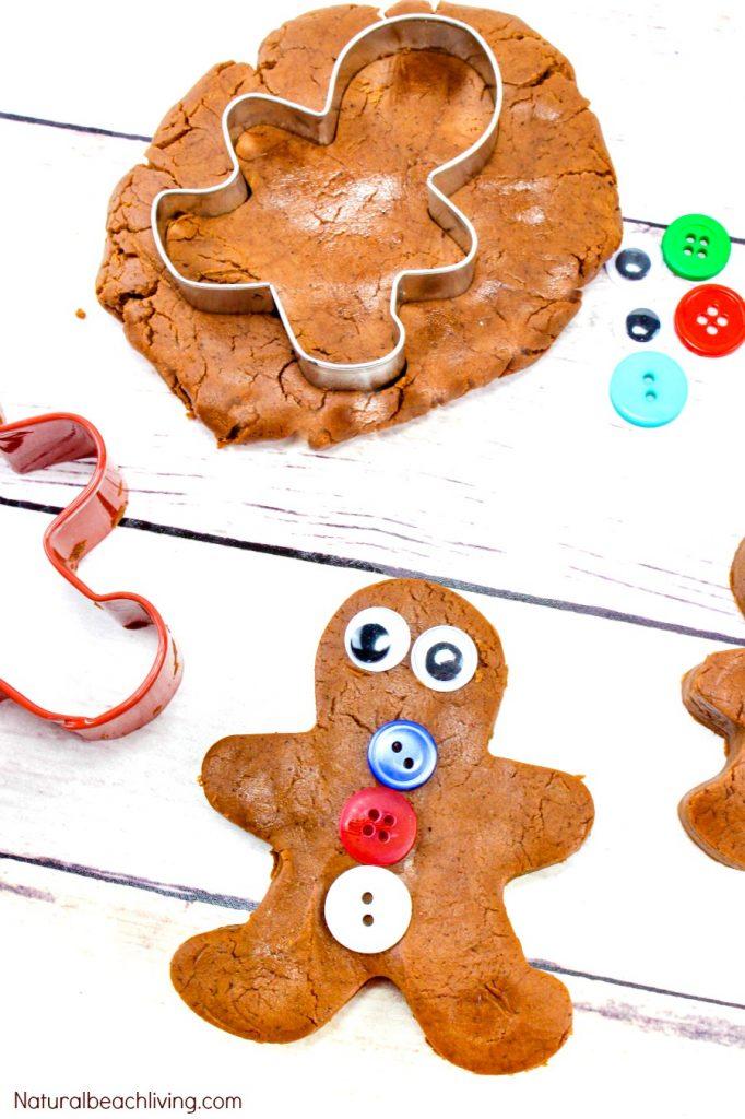Gingerbread clipart playdough. Recipe no cook cream