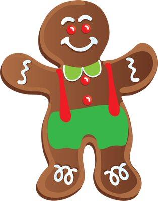A to z kids. Gingerbread clipart preschool