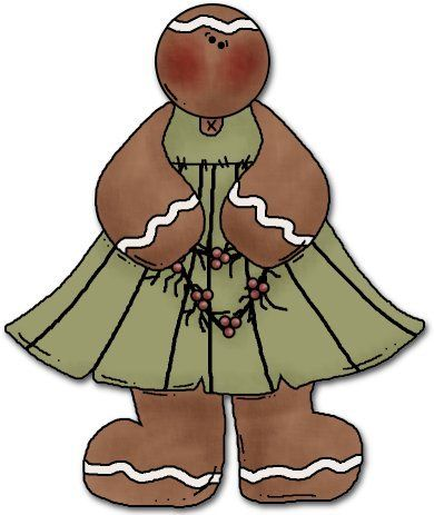 Gingerbread clipart primitive. Pin by hearted country