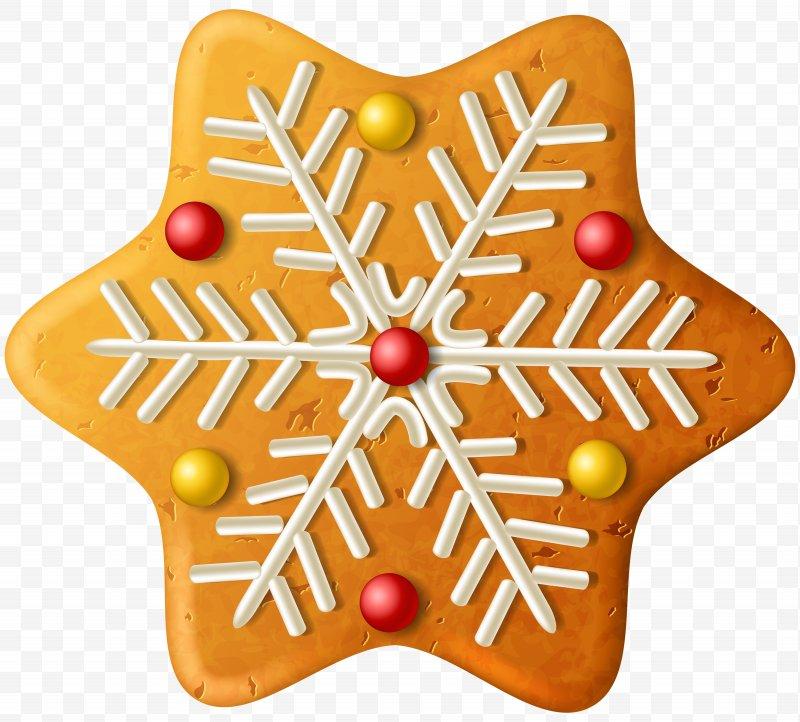 Gingerbread clipart snowflake. Christmas ornament clip art