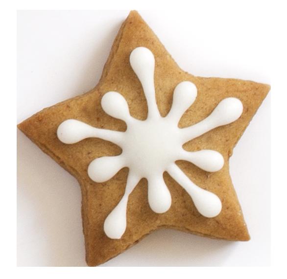 Blvd taste of home. Gingerbread clipart star