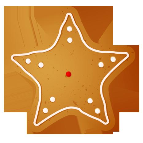 Pin by kim heiser. Gingerbread clipart star